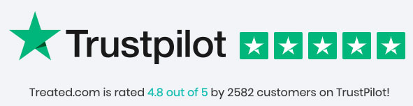 treated rated at trustpilot