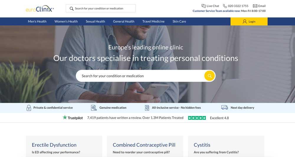 euroclinix online pharmacy