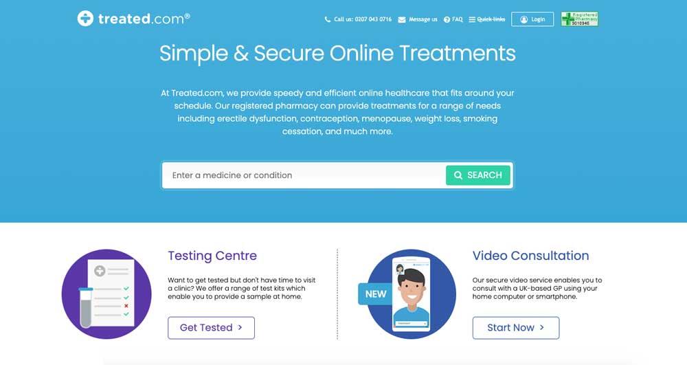 treated online pharmacy